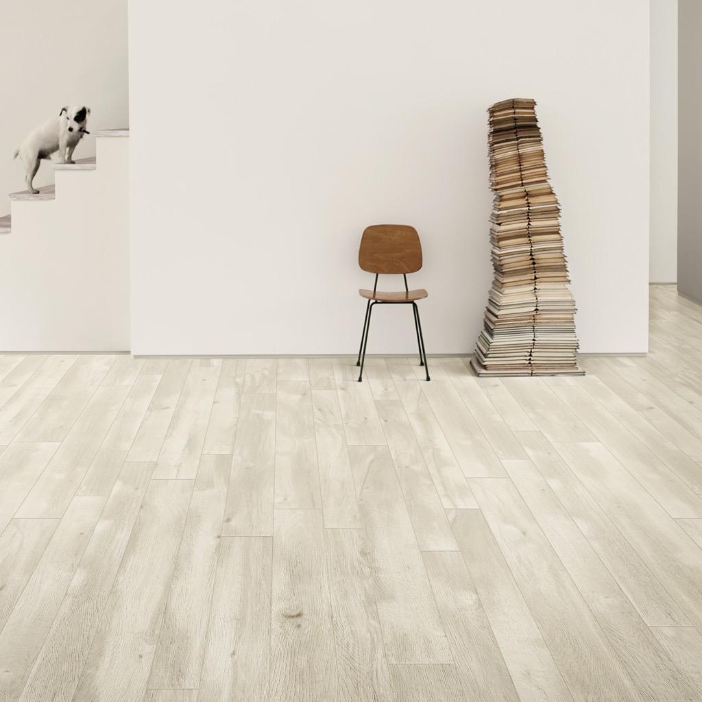 Pavimento Gres Rovere Sbiancato gres porcellanato effetto legno just