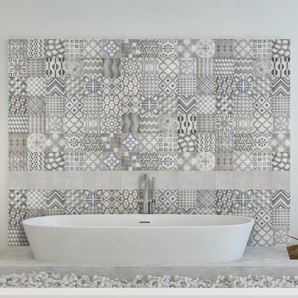 Piastrelle Bagno Mosaico Viola arredare con il mosaico in stile arabo | webtiles