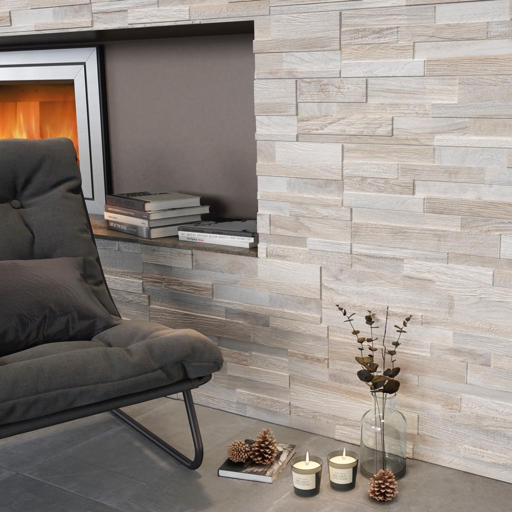 Rivestimenti In Legno Da Parete rivestimento effetto legno wall art