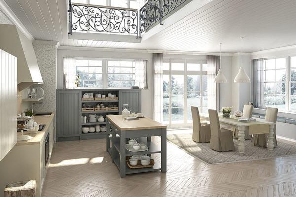 Realizzare una cucina in perfetto stile inglese