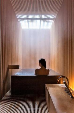 bagno in stile giapponese