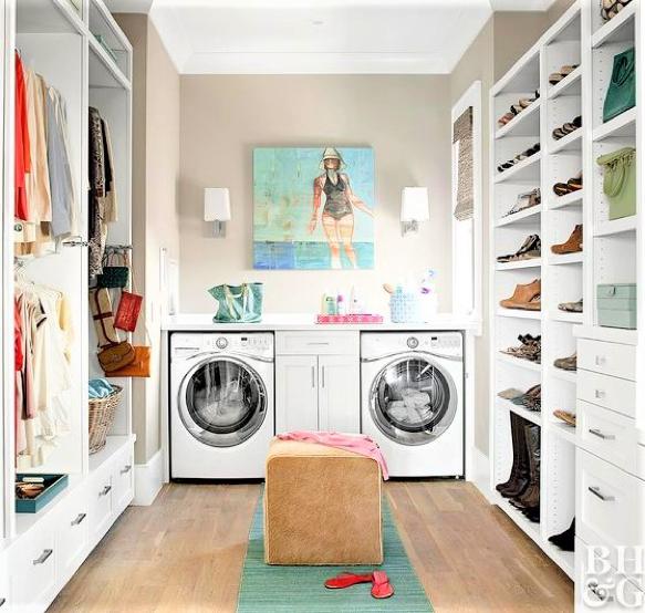 cabina multifunzione con sala lavanderia