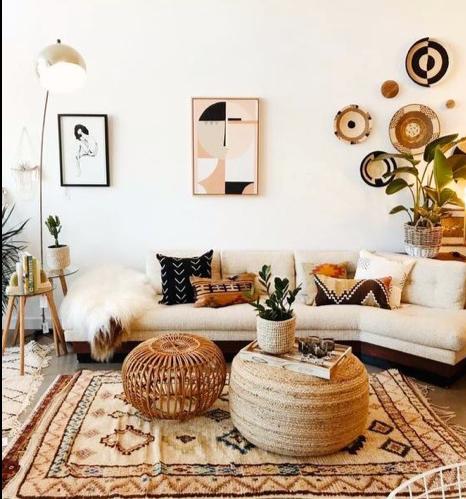 salotto in stile marocchino