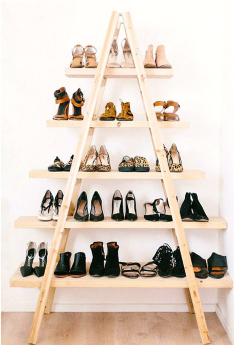 scarpe in cabina armadio