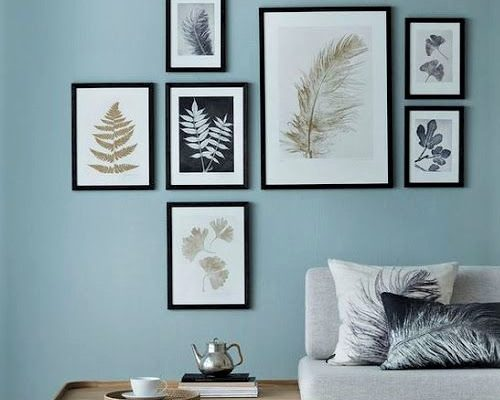 stampe da pareti con divanetto