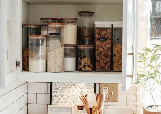 confezioni in vetro per la cucina