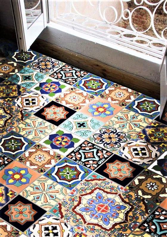 pavimento tipico siciliano