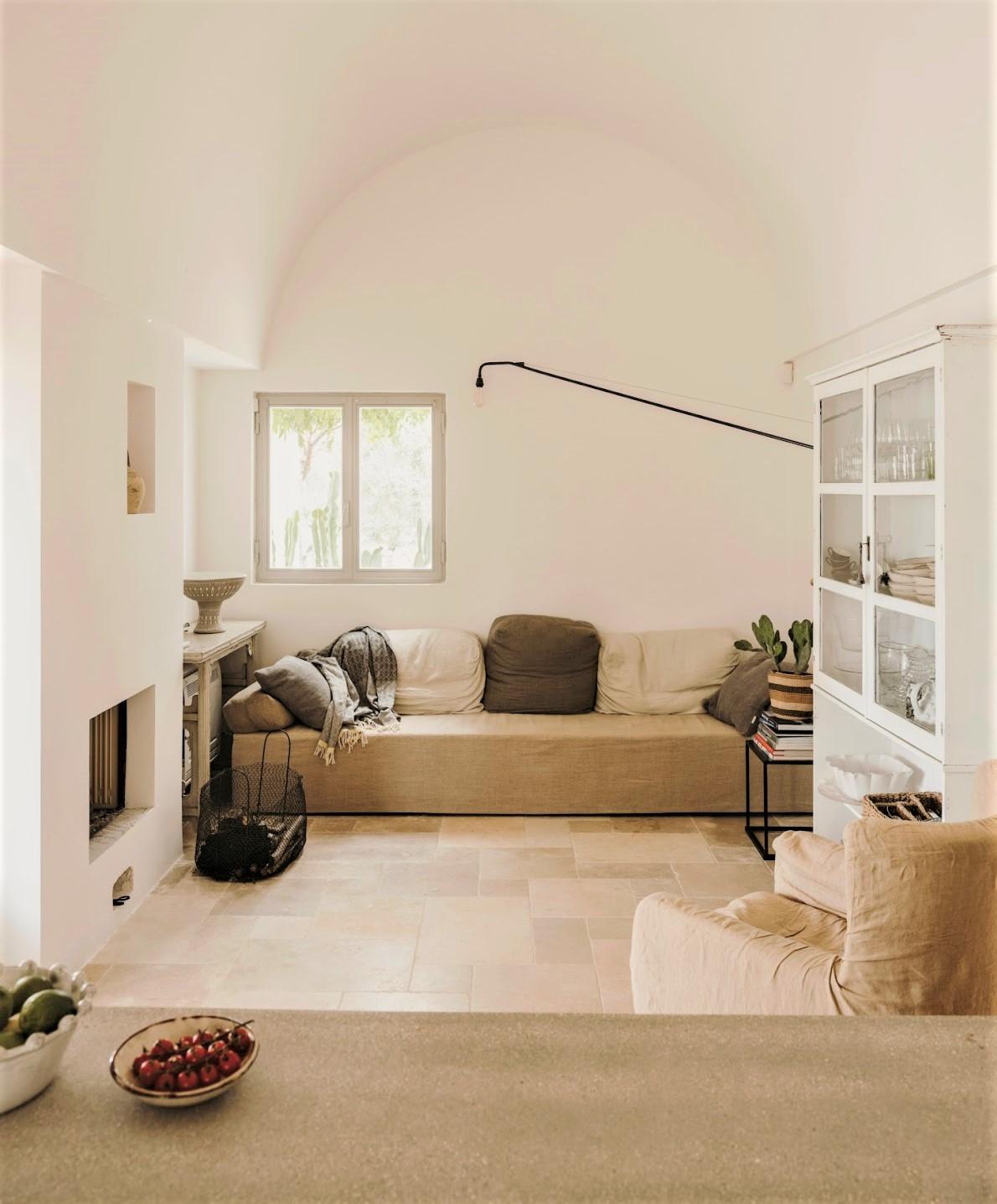 living con divano beige