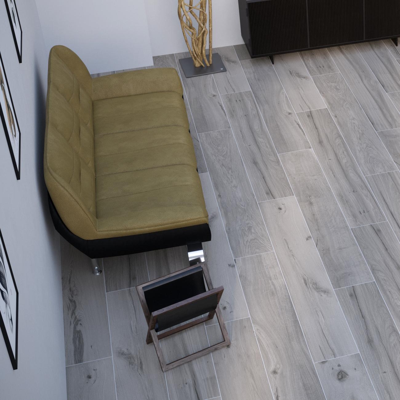 Piastrelle effetto legno: quale formato?